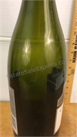 Large Glass Concannon Petite Sirah Wine Bottle