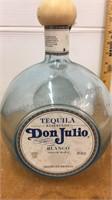 Don Julio Tequila Glass Bottle