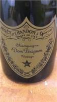 Dom Perignon Champagne Glass Bottle