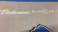 Budweiser Bud Light Detroit Lions Pennant 27x18