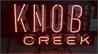 Knob Creek Neon Pull Chain Light Up Sign/Wall
