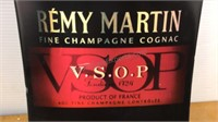 Remy Martin Champagne VSOP Metal Sign 36x10