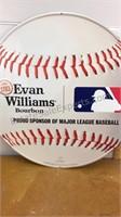 Evan Williams Bourbon MLB Metal Sign 23x23