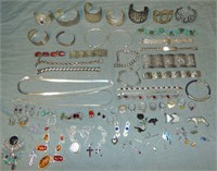 Sterling Silver Jewelry Lot.