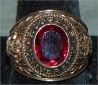 10 K Gold Class Ring.