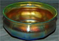 Tiffany Studios Favrile Bowl.