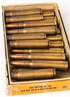 Mixed Rifle Ammo Including Nazi Marked 8MM