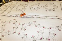 Quilted Bedspread and Pillow Shams