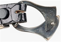Alligator Belt Sterling Silver Ranger Set Buckle