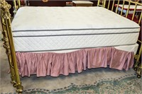 Furniture Queen Size Lawrence Bradley Brass Bed