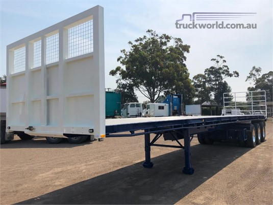 2012 Vawdrey 45ft Flat Top Trailer Coast to Coast Sales & Hire  - Trailers for Sale