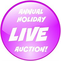**NOTICE** LIVE LIVE LIVE HOLIDAY AUCTION NOV 9TH