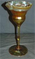 Tiffany Favrile Floriform Vase.