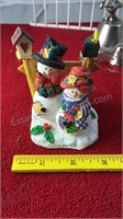 Collection of Small Figures Wizard of Oz Snowmen