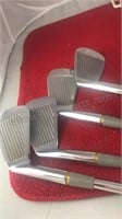 4 Vintage Pro Forge Golden Classic Fairway Irons