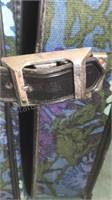 "Vintage Soft Sided Garment Bag 25x23x7"""