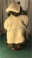 "Woodlands Santa Figure 17"" Tall"
