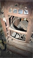 Antique Cast Iron  Renown Wood Stove Body