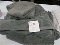 HOTEL COLLECTION BATH SET 2 BATH TOWELS, HAND