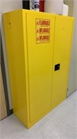 "Flammable Cabinet 43""x18.5""x65"""