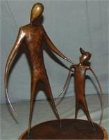 Paul Oestreicher. Bronze. 1988.