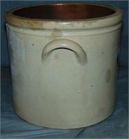 Stoneware Crock. W.A. Macquoid. NY.