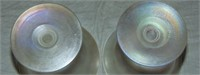 Lot of Four Art Glass Sherbet Bowls.