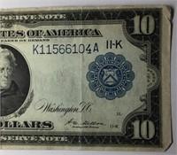 1914 $10 Federal Reverse Note  Dallas , TX  11-K