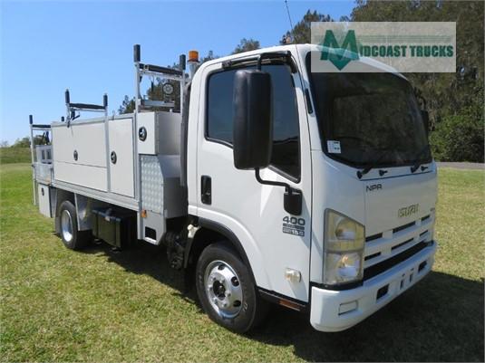 2012 Isuzu NPR 400 Medium Midcoast Trucks - Trucks for Sale