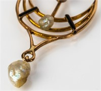 Jewelry 10kt Yellow Gold Diamond Pendant
