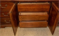 Furniture Long Federal Style Dresser