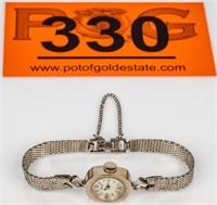 Jewelry 14kt White Gold Nivada Wrist Watch