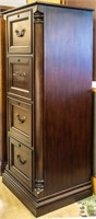 Furniture Federal Style Locking File Cabinet
