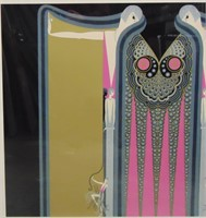 """Erte, Limited Edition Serigraph """"Twin Sisters"""""""