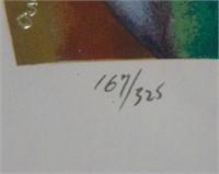 """Moser, """"Adam & Eve"""" Ltd Ed Serigraphs"""