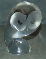 Steuben. Owl.