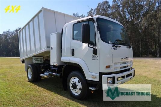 2012 Isuzu FSS 550 4x4 Midcoast Trucks - Trucks for Sale