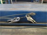 Rotary Four Post Heavy Duty Car Hoist w/ hyd power