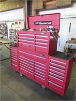 U.S. General Rolling Tool Box & Contents Including