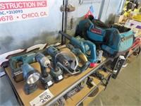 Makita Cordless Tool Set Including: Sawzall, Drill