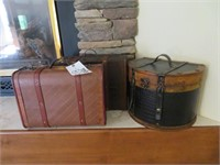 Lot of Assorted Decorative Pieces Including: Trunk