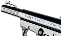Gun Ruger 22/45 Mark II Target Pistol 22LR