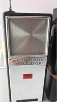 1966 Vintage Alaron 6 Transistor Transceiver