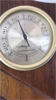 Vintage Airguide Wood Wall Hanging Weather
