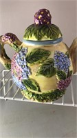 Top Designs Ceramic Tea Pot With Clock Made In
