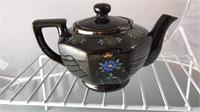 "Vintage Ceramic Tea Pot 4"" Tall Made In Japan Lid"