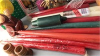 Collection of Taper and Votive Candles and Candle