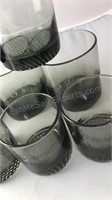 "10 Pc Set of Rocks Glasses Etched With ""LSE"" 3"