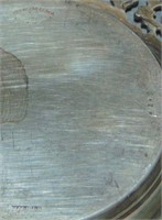 Three Piece Sterling Platter Lot.