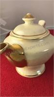 "Unmarked Ceramic Tea Pot 6"" Tall"